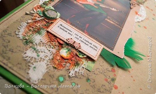 """Свершилось """"страшное"""" - альбом по совместному проекту с Дашей Пнёвой, который нужно было ещё в прошлом году сделать, я таки доделала:)))) фото 9"""