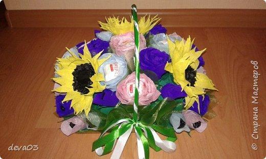 на фото розы синие, на самом деле они фиолетовые фото 2