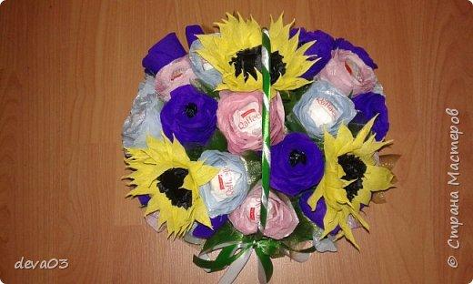 на фото розы синие, на самом деле они фиолетовые фото 5