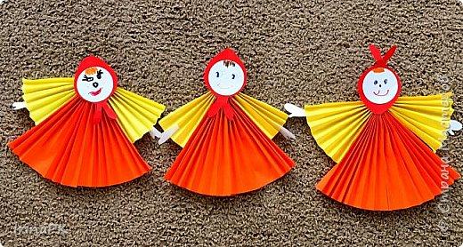 Вот таких кукол-Маслениц я делала с детьми. фото 4