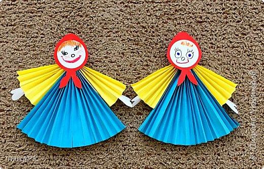 Вот таких кукол-Маслениц я делала с детьми. фото 3