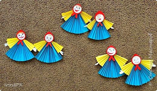 Вот таких кукол-Маслениц я делала с детьми. фото 6