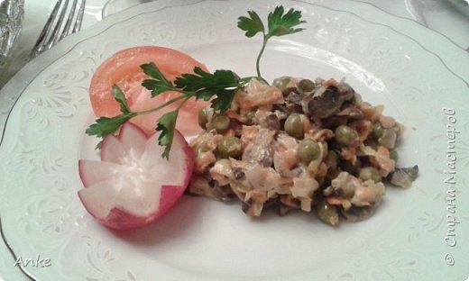 Предлагаю Вам попробовать приготовить вкусный салатик, который можно кушать теплым или холодным. фото 1