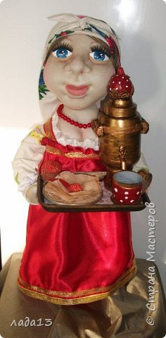 Кукла сшита на конкурс масленицы.По такому случаю пришлось белый платочек повязать и новые бусы прикупить. фото 1