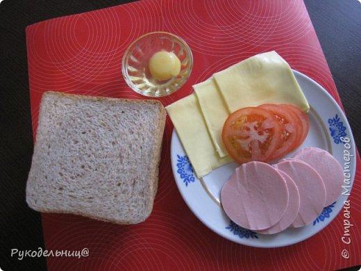 Всем добрый вечер. Предлагаю вам рецепт для вкусного завтрака. Этот рецепт не помню, где подсмотрела. Там он назывался испанский сэндвич, не знаю почему, может такие готовят в Испании. Готовлю его по воскресным дням, но иногда такое дети просят на даче, как перекус в полдник. На свежем воздухе всё вкуснее.  фото 2