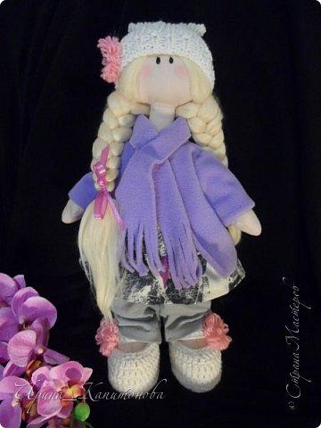 Доброго времени суток всем жителям и гостям Страны Мастеров!!! Представляю вам миниатюрную блондиночку, сшитую в подарок на день рождения замечательной рукодельнице и просто хорошему человеку Наташе Беляевой http://stranamasterov.ru/user/164857 фото 1