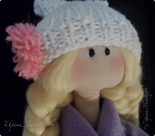 Доброго времени суток всем жителям и гостям Страны Мастеров!!! Представляю вам миниатюрную блондиночку, сшитую в подарок на день рождения замечательной рукодельнице и просто хорошему человеку Наташе Беляевой http://stranamasterov.ru/user/164857 фото 2
