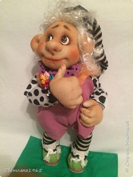 Приветствую всех!!!Кукла сделала по мотивам замечательных сестер Михайловых!!! фото 5