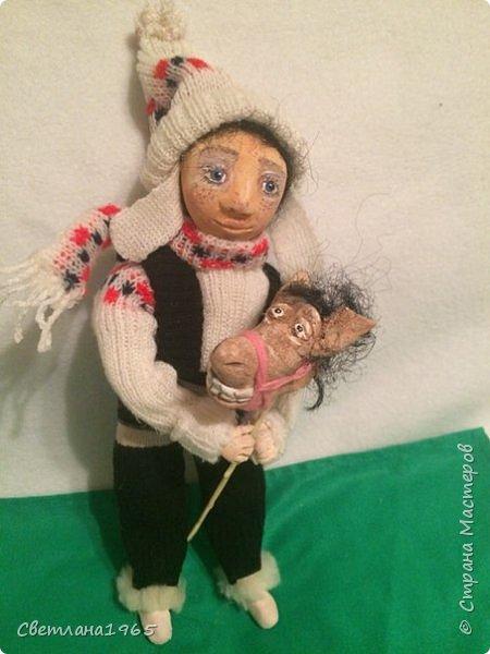 Приветствую всех!!!Кукла сделала по мотивам замечательных сестер Михайловых!!! фото 6