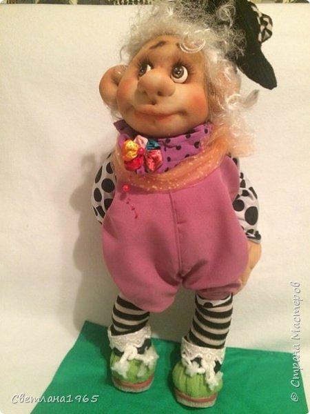 Приветствую всех!!!Кукла сделала по мотивам замечательных сестер Михайловых!!! фото 2