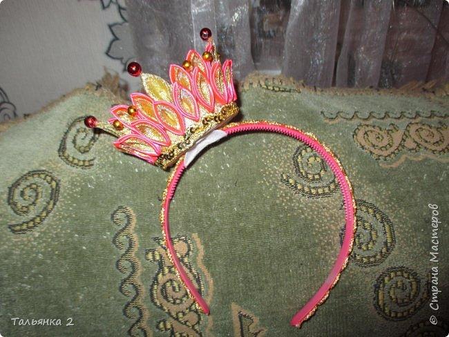 Корона на ободке фото 1