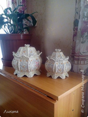 Белые кубышечки -готовы к покраске фото 1
