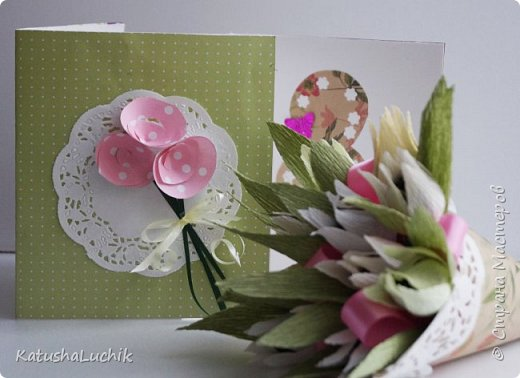 Такой подарочек достался одном хорошему человеку, который ну очень любит хризантемы. фото 8