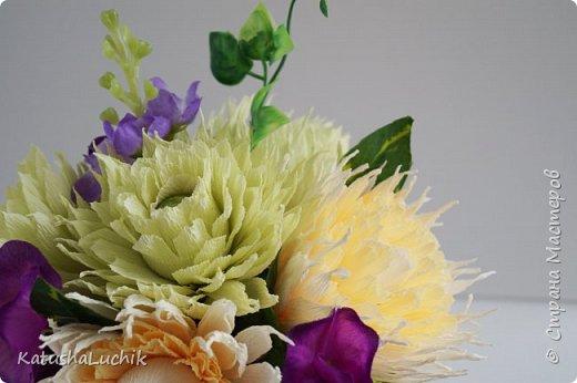 Такой подарочек достался одном хорошему человеку, который ну очень любит хризантемы. фото 4