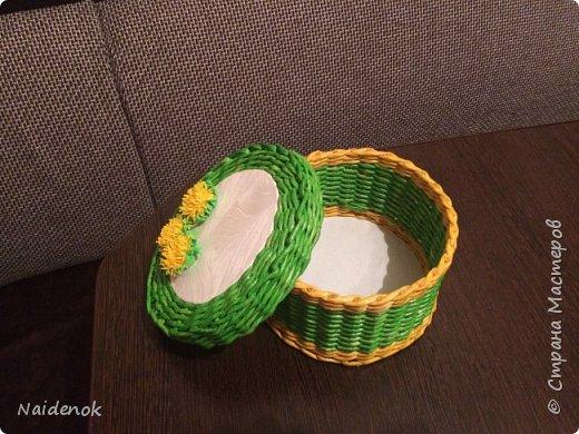 Продолжаю осваивать плетение из бумаги фото 3