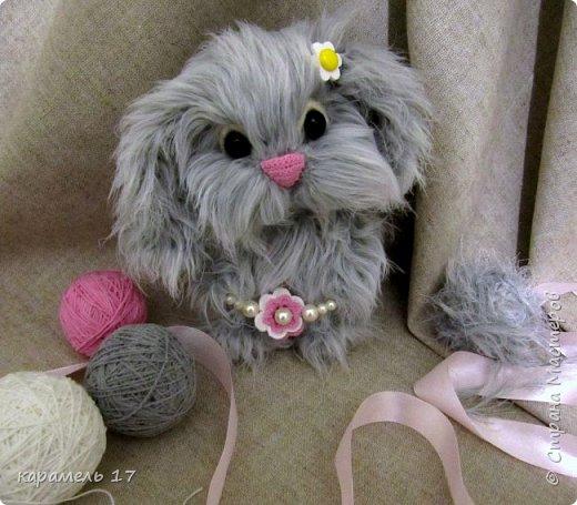 Зайка Веснянка, связанный крючком. фото 3