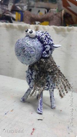 Вот такие овечки я делала в подарок на новый год. фото 3