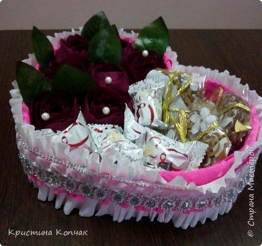 Сладкая коробочка цветов. 8 марта фото 4