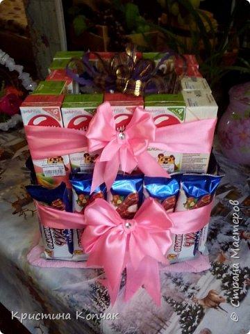 Сладкая коробочка цветов. 8 марта фото 3
