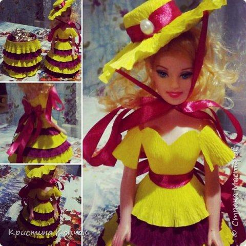 Куколки-шкатулки для моих любимых племянниц фото 3