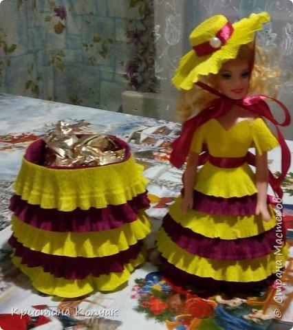 Куколки-шкатулки для моих любимых племянниц фото 2
