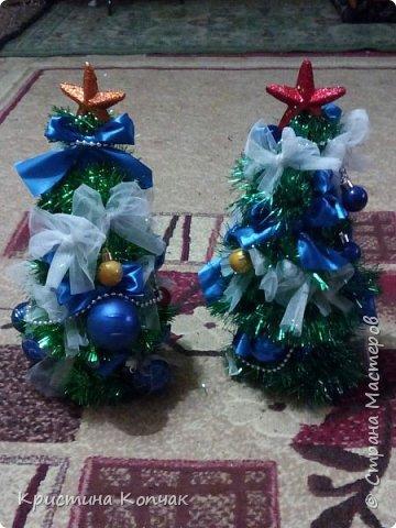 Мои елочки и новогодние бутылочки фото 1