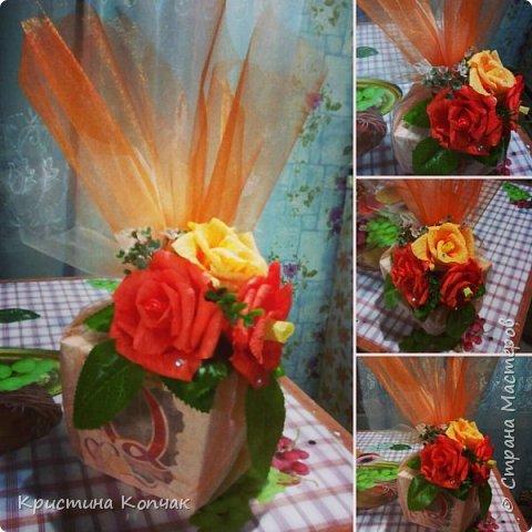 Сладкая коробочка цветов. 8 марта фото 7