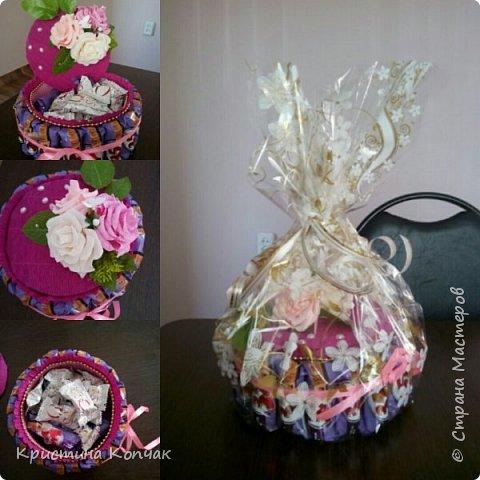 Сладкая коробочка цветов. 8 марта фото 9