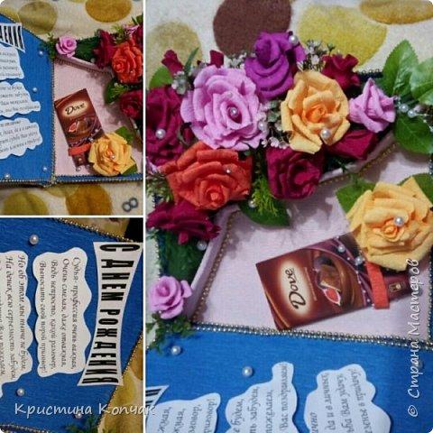 Сладкая коробочка цветов. 8 марта фото 11