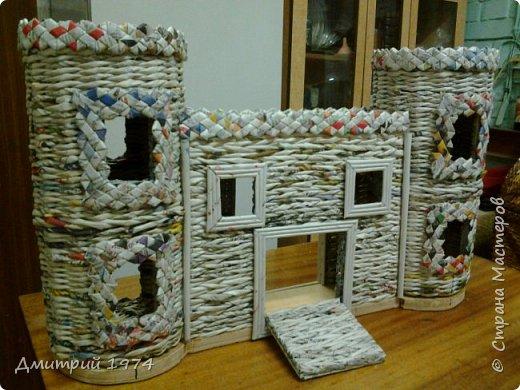 Всем ЗДРАВСТВУЙТЕ!!!!!!!  Доча попросила сделать домик,вот что получилось.....Дворец? Крепость? Решать Вам! :)))) фото 11