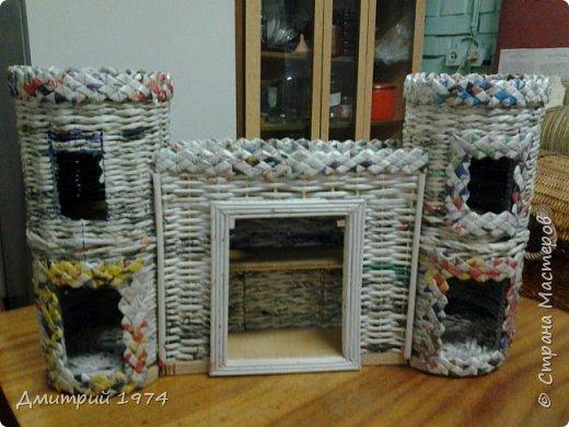 Всем ЗДРАВСТВУЙТЕ!!!!!!!  Доча попросила сделать домик,вот что получилось.....Дворец? Крепость? Решать Вам! :)))) фото 12