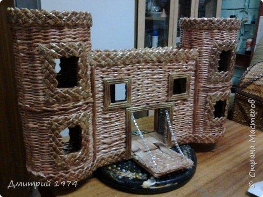Всем ЗДРАВСТВУЙТЕ!!!!!!!  Доча попросила сделать домик,вот что получилось.....Дворец? Крепость? Решать Вам! :)))) фото 8