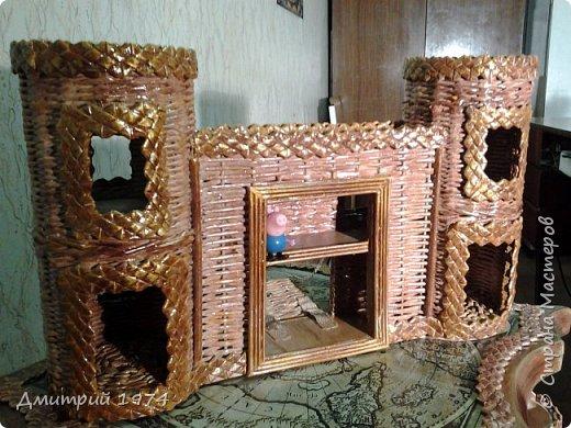 Всем ЗДРАВСТВУЙТЕ!!!!!!!  Доча попросила сделать домик,вот что получилось.....Дворец? Крепость? Решать Вам! :)))) фото 2