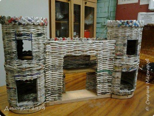 Всем ЗДРАВСТВУЙТЕ!!!!!!!  Доча попросила сделать домик,вот что получилось.....Дворец? Крепость? Решать Вам! :)))) фото 16