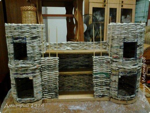 Всем ЗДРАВСТВУЙТЕ!!!!!!!  Доча попросила сделать домик,вот что получилось.....Дворец? Крепость? Решать Вам! :)))) фото 18