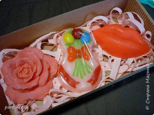 Делала на 8 марта мылки на подарки и вот что из этого получилось, мылки из мыльной основы. фото 9