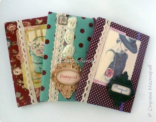 Обложки на паспорт. Всегда нужны и всегда пригодятся ))) фото 1