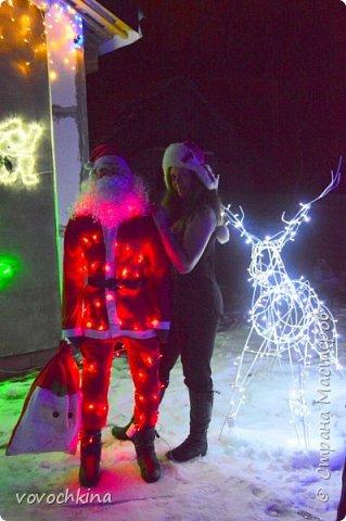 Санта Клаус ,олень .Новый Год 2016  фото 2
