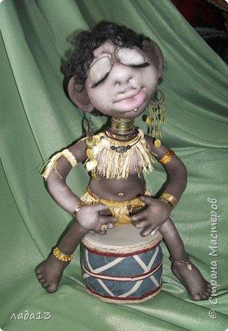 Моя африканка,по мотивам  куклы- африканки   Елены   Лаврентьевой        http://stranamasterov.ru/node/361647       . фото 2