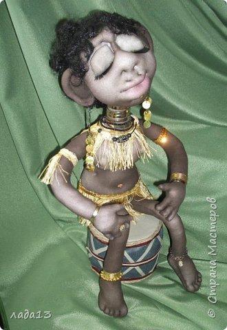 Моя африканка,по мотивам  куклы- африканки   Елены   Лаврентьевой        http://stranamasterov.ru/node/361647       . фото 6