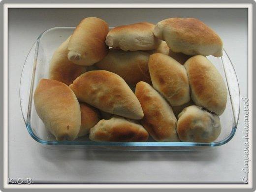 пирожки с солеными грибами фото 1