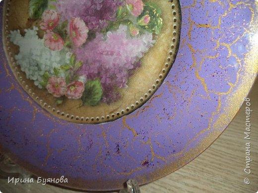 Очень люблю декорировать тарелочки!!! Они для меня, как полигон для изучения разных техник.  фото 15
