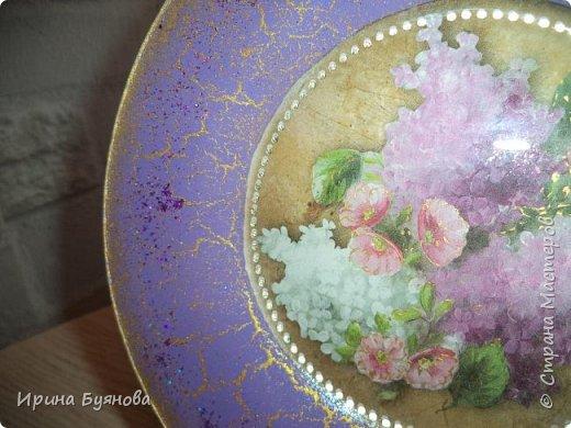 Очень люблю декорировать тарелочки!!! Они для меня, как полигон для изучения разных техник.  фото 14