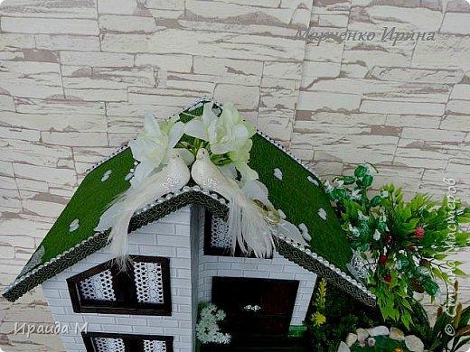 """Подарок на свадьбу  все с тем же пожеланием: """"Построить дом, посадить дерево, воспитать детишек"""" фото 3"""
