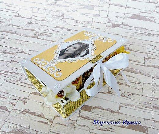Шкатулка с конфетами фото 5