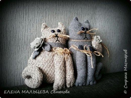 Увидела котов у Елены Пилар  ,http://stranamasterov.ru/user/29512 не смогла пройти мимо.захотелось себе что то похожее сотворить. фото 2