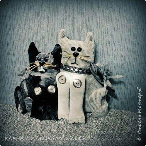 Увидела котов у Елены Пилар  ,http://stranamasterov.ru/user/29512 не смогла пройти мимо.захотелось себе что то похожее сотворить. фото 7