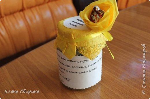 Подарочек на день рожденье любимому брату.  Содержимое баночки. фото 6