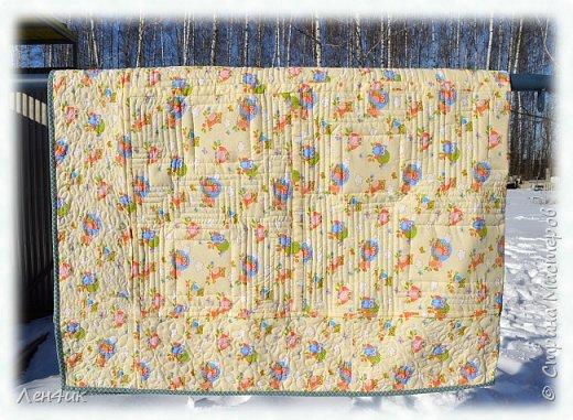 """У младшего сына день рождения. И ему я подарила собственное одеяло. Идея такая-же, как и в <a href=""""http://stranamasterov.ru/node/99180""""/>предыдущем</a>, но дизайн немного другой. фото 4"""