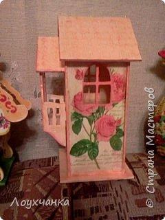 Розовый домик. Качество фотографии не очень, но фотоаппарата  пока нет. фото 2